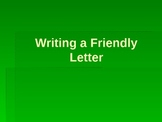 Friendly Letter Intro PowerPoint