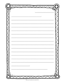 Friendly Letter Paper/Writing Templates