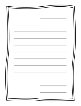 Friendly Letter Papers