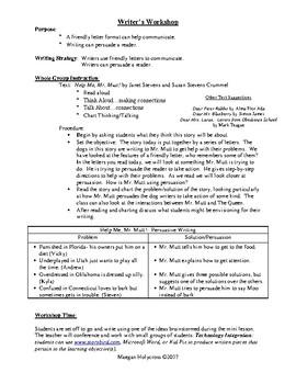 Friendly Letter & Persuasive Writing: 1st Grade Lesson with Janet Stevens