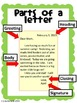 Friendly Letter - Poster, Assignment, Graphic Organizer, Rubric, Template