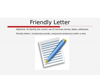 Friendly Letter Power Point