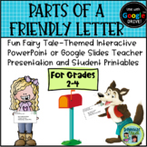 Friendly Letter PowerPoint or Google Slides Presentation a