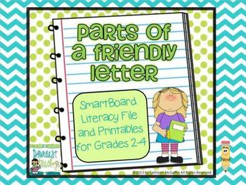 Friendly Letter SMARTBoard File and Printables