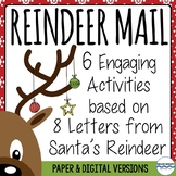 Friendly Letter Study and Writing - Holiday Activities (with digital versions)
