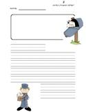 Friendly Letter Template K