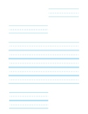 Friendly Letter Template without Labels