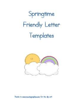Friendly Letter Templates!