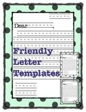 Friendly Letter Templates