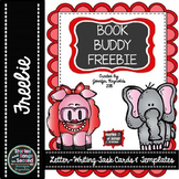Friendly Letter Templates and Task Cards--Book Buddy Writing {FREEBIE}