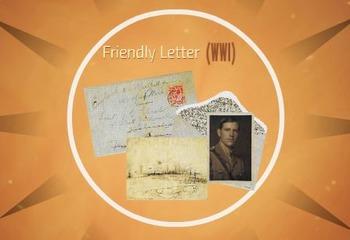 Friendly Letter (WWI)