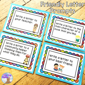 Friendly Letter Writing Activities
