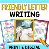 Friendly Letter Writing Activities (Distance Learning)