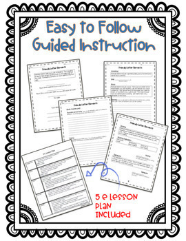 Friendly Letter Writing {Grades 3-5}