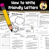 Friendly Letter Template and Lesson Plan {Grades 3-5}