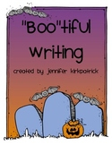 "Friendly Letter Writing Halloween ""Boo""tiful Writing Grade 1 and Grade 2"