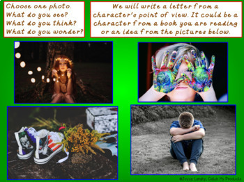Writing Process : Friendly Letter Writing, The Parts of a Letter