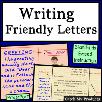 Letter Writing Practice
