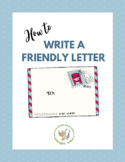 Friendly Letter Writing Lesson Packet