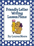 Friendly Letter Writing Lesson Plans (5 days)