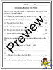 Friendly Letter Writing Powerpoint, Worksheets, Test, and