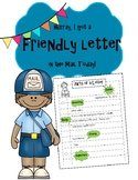 Friendly Letter Writing Printables