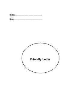 Friendly Letter Writing Process