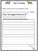 Desert Animal Friendly Letter Writing Prompt / Activity