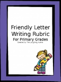 Friendly Letter Writing Rubric