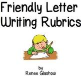 Friendly Letter Writing Rubrics