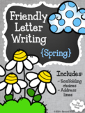 Friendly Letter Writing {Spring} ~ Templates
