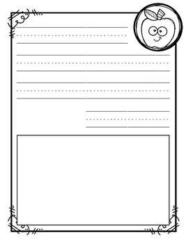 Friendly Letter Writing Templates - Aug/Sept {Differentiated}