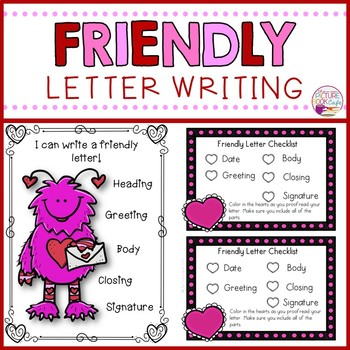Friendly Letter Writing (Valentine's Day)