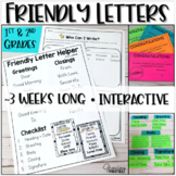 Friendly Letter Writing Workshop Unit