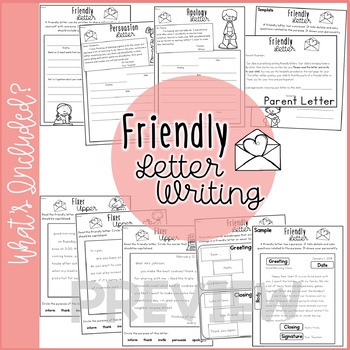 Friendly Letter Writing and Capitalization