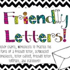 Friendly Letter Writing {everything you need!}