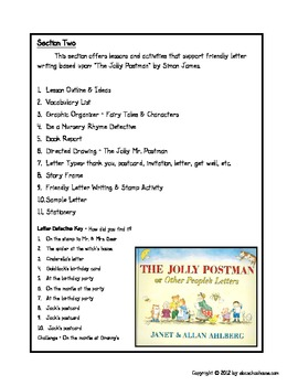 Friendly letter writing with the jolly postman by abc schoolhouse friendly letter writing with the jolly postman spiritdancerdesigns Images
