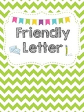 Friendly Letter for the Writing Center