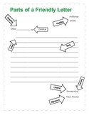 Friendly Letter guidelines & template