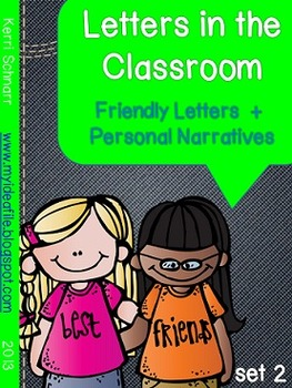 Friendly Letters in the Classroom: melonheadz kids
