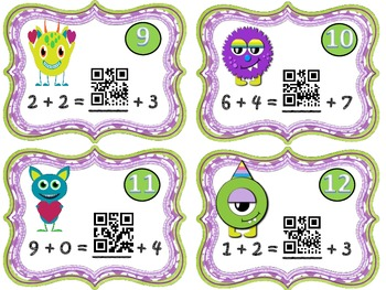 Friendly Monsters Equal Treat!! (Balancing Equations)