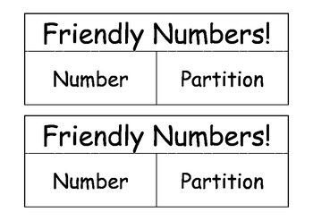 Friendly Numbers Match 11-50