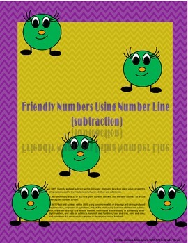 Friendly Numbers-Using Number Line