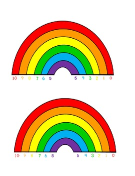 Friendly Tens Rainbow