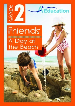 Friends - A Day at the Beach - Grade 2