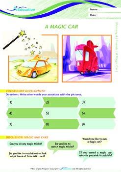 Friends - A Magic Car - Grade 4