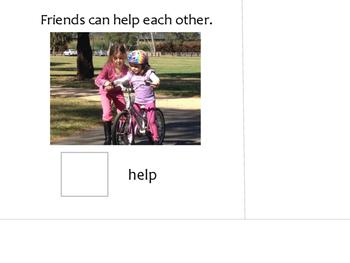 Friends - An Interactive Book