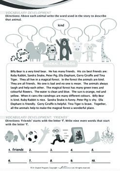 Friends - Animal Friends - Grade 2