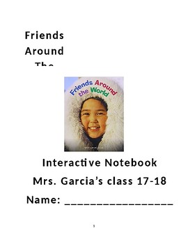 Friends Around the World Interactive Notebook
