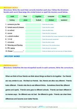 Friends - Being Different - Grade 5